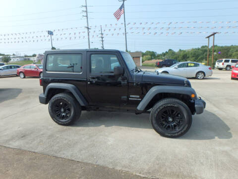 2013 Jeep Wrangler for sale at BLACKWELL MOTORS INC in Farmington MO