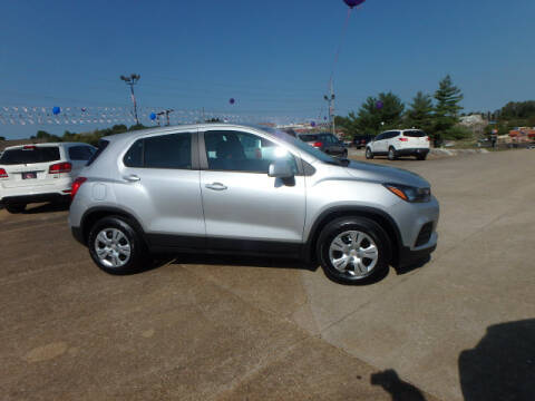 2017 Chevrolet Trax for sale at BLACKWELL MOTORS INC in Farmington MO
