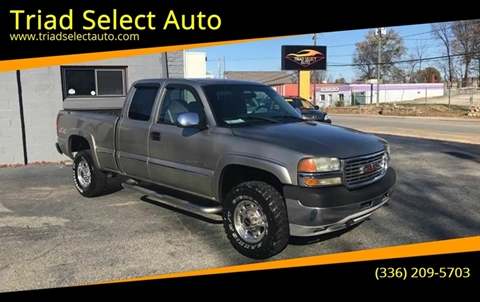 2002 GMC Sierra 2500HD for sale in Greensboro, NC