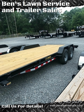 "2020 Doolittle 84""x20'HD Car Hauler CF842098K for sale at Ben's Lawn Service and Trailer Sales in Benton IL"