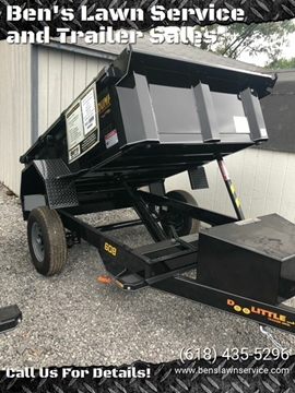 "2020 Doolittle 60""x8' Masterdump MD6085KSC for sale at Ben's Lawn Service and Trailer Sales in Benton IL"