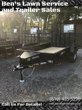 2021 Doolittle UT66X103K for sale at Ben's Lawn Service and Trailer Sales in Benton IL
