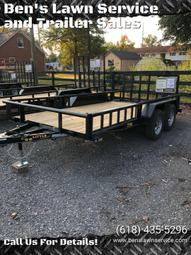2021 Doolittle UT77X147K for sale at Ben's Lawn Service and Trailer Sales in Benton IL