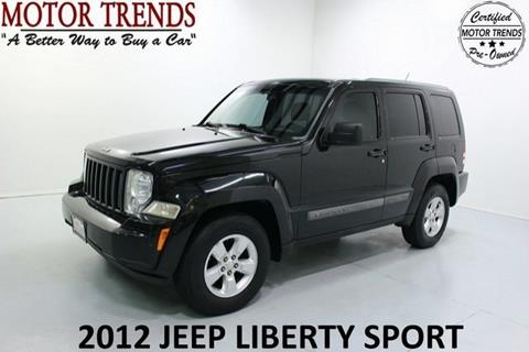 2012 Jeep Liberty for sale in Alvin, TX