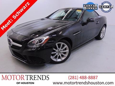 2018 Mercedes-Benz SLC for sale in Alvin, TX