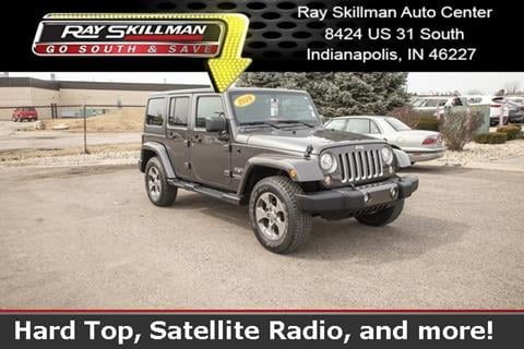 2018 Jeep Wrangler Unlimited for sale in Indianapolis, IN
