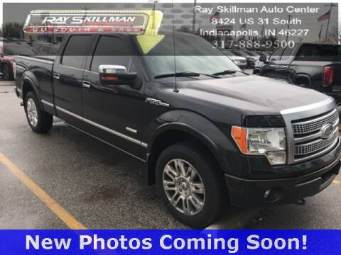 2012 Ford F-150 for sale at RAY SKILLMAN AUTO CENTER in Indianapolis IN