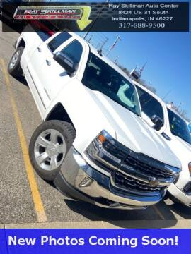 2017 Chevrolet Silverado 1500 LTZ for sale at RAY SKILLMAN AUTO CENTER in Indianapolis IN
