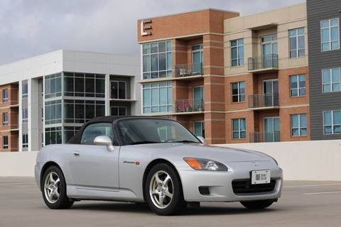 2002 Honda S2000 for sale at Southwest Sports Cars, LLC in The Woodlands TX