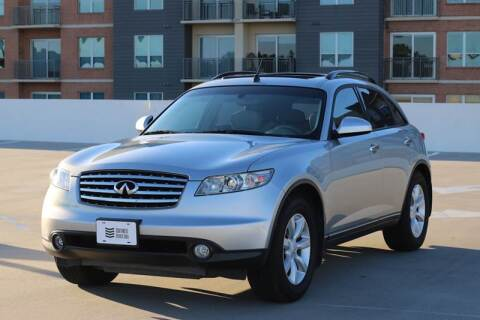 2005 Infiniti FX35 for sale at Southwest Sports Cars, LLC in The Woodlands TX
