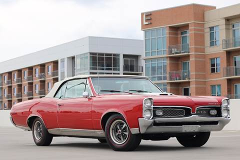 1967 Pontiac GTO for sale at Southwest Sports Cars, LLC in The Woodlands TX