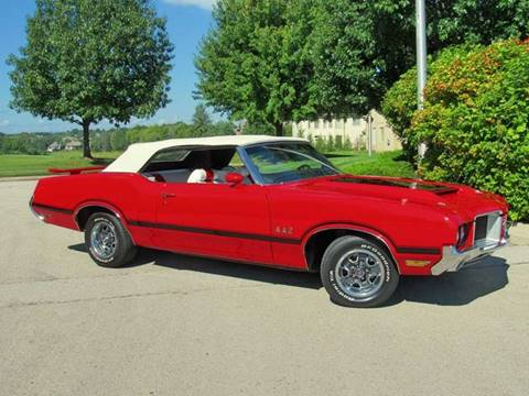 1972 Oldsmobile 442 for sale at KC Classic Cars in Kansas City MO