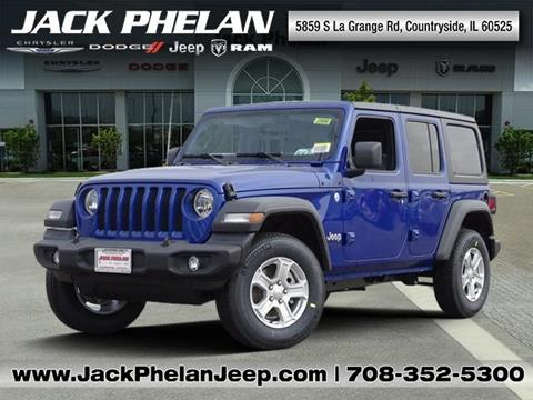 2019 Jeep Wrangler Unlimited for sale in Countryside, IL