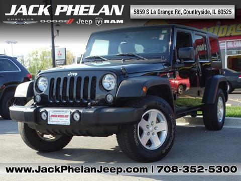 2016 Jeep Wrangler Unlimited for sale in Countryside, IL