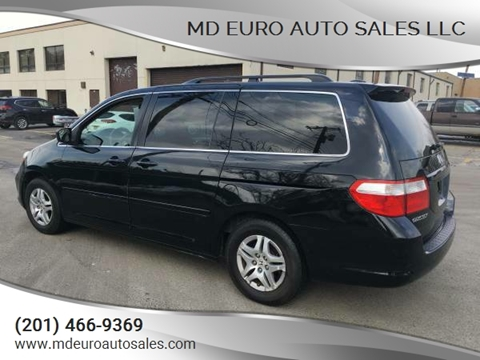 2007 Honda Odyssey for sale at MD Euro Auto Sales LLC in Hasbrouck Heights NJ