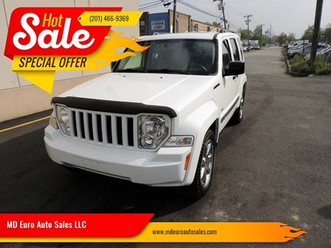 2012 Jeep Liberty for sale at MD Euro Auto Sales LLC in Hasbrouck Heights NJ