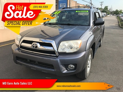 2007 Toyota 4Runner for sale at MD Euro Auto Sales LLC in Hasbrouck Heights NJ