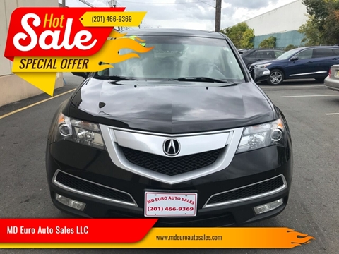 2013 Acura MDX for sale at MD Euro Auto Sales LLC in Hasbrouck Heights NJ