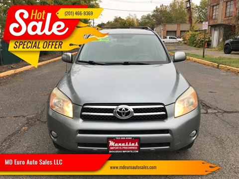 2008 Toyota RAV4 for sale at MD Euro Auto Sales LLC in Hasbrouck Heights NJ