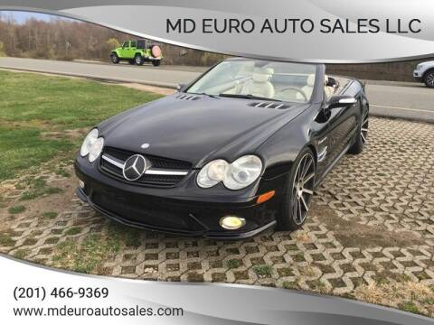 2007 Mercedes-Benz SL-Class for sale at MD Euro Auto Sales LLC in Hasbrouck Heights NJ
