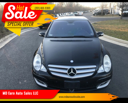 2006 Mercedes-Benz R-Class for sale at MD Euro Auto Sales LLC in Hasbrouck Heights NJ