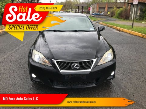 2011 Lexus IS 250 for sale at MD Euro Auto Sales LLC in Hasbrouck Heights NJ