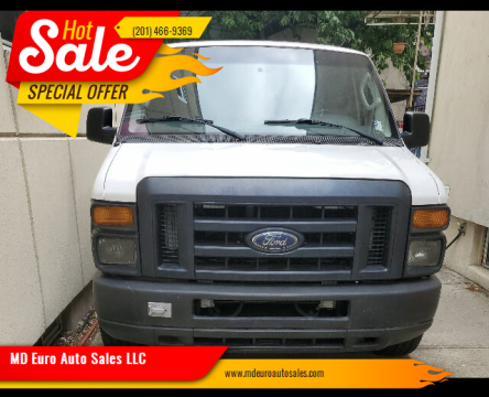 2010 Ford E-Series Cargo for sale at MD Euro Auto Sales LLC in Hasbrouck Heights NJ