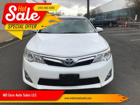 2013 Toyota Camry for sale at MD Euro Auto Sales LLC in Hasbrouck Heights NJ