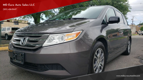 2013 Honda Odyssey for sale at MD Euro Auto Sales LLC in Hasbrouck Heights NJ