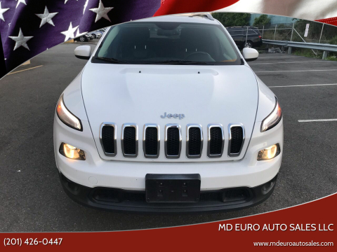 2014 Jeep Cherokee for sale at MD Euro Auto Sales LLC in Hasbrouck Heights NJ