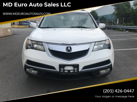 2011 Acura MDX for sale at MD Euro Auto Sales LLC in Hasbrouck Heights NJ