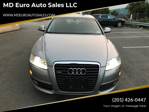2010 Audi A6 for sale at MD Euro Auto Sales LLC in Hasbrouck Heights NJ