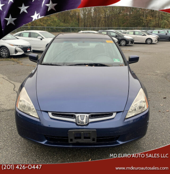 2004 Honda Accord for sale at MD Euro Auto Sales LLC in Hasbrouck Heights NJ