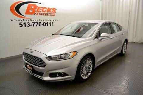 2013 Ford Fusion for sale at Becks Auto Group in Mason OH