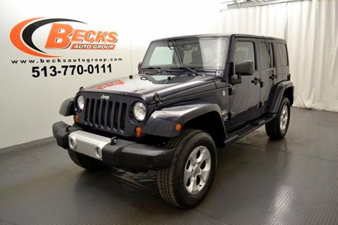 2013 Jeep Wrangler Unlimited for sale in Mason, OH