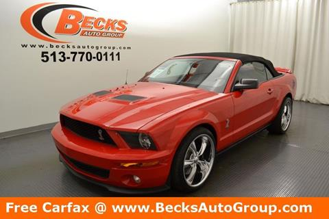2008 Ford Shelby GT500 for sale in Mason, OH