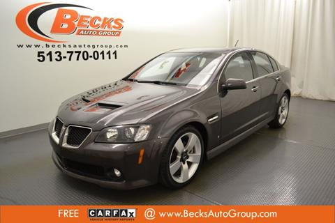 2009 Pontiac G8 for sale in Mason, OH