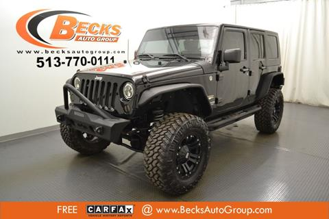 2010 Jeep Wrangler Unlimited for sale in Mason, OH