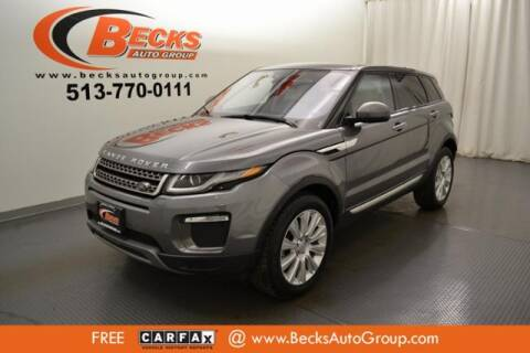 2017 Land Rover Range Rover Evoque for sale at Becks Auto Group in Mason OH