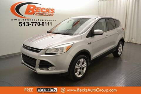 2013 Ford Escape for sale at Becks Auto Group in Mason OH
