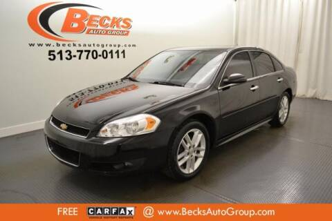 2014 Chevrolet Impala Limited for sale at Becks Auto Group in Mason OH