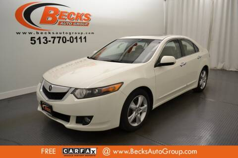2010 Acura TSX for sale at Becks Auto Group in Mason OH