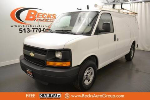 2011 Chevrolet Express Cargo for sale at Becks Auto Group in Mason OH