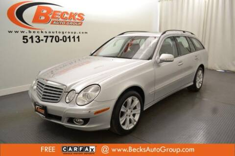 2009 Mercedes-Benz E-Class for sale at Becks Auto Group in Mason OH