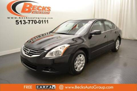 2012 Nissan Altima for sale at Becks Auto Group in Mason OH