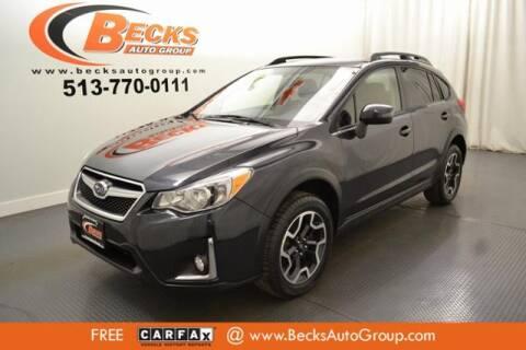 2016 Subaru Crosstrek for sale at Becks Auto Group in Mason OH