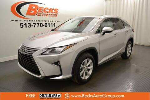 2016 Lexus RX 350 for sale at Becks Auto Group in Mason OH