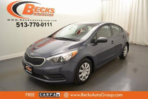 2016 Kia Forte for sale at Becks Auto Group in Mason OH