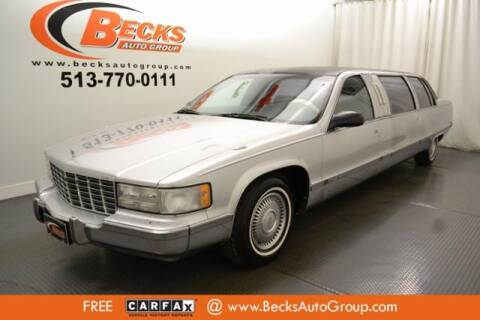 1996 Cadillac Fleetwood for sale at Becks Auto Group in Mason OH