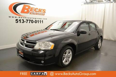 2013 Dodge Avenger for sale at Becks Auto Group in Mason OH